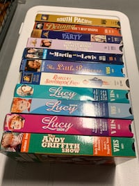 Classic VHS Movie Bundle - Lucy, Shirley, Andy & other classic movies. Toronto, M9B 0A2