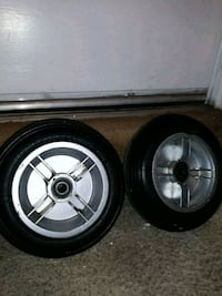 2 tires and rims for gocart and mini bikes Pittsburg, 94565