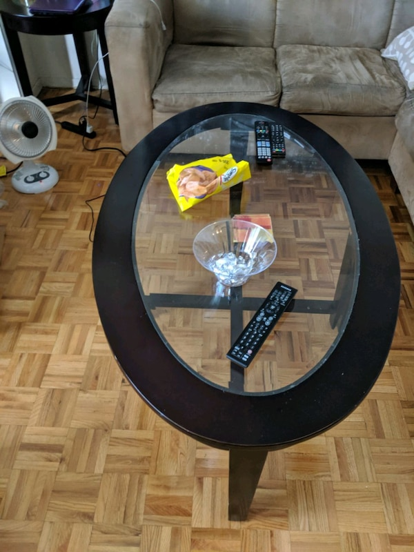 Brick Coffee Table and 2 end table  c3b0d9b0-6533-469f-be82-fad7a2ab6f1a