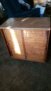 Table with sliding doors 24 by 12 by 30