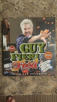 Guy Fieri Cookbook (Autographed) $40.00 obo Thorold, L2V 3H8