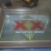 Dos Equis imported beer poster