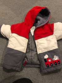 baby boy snow suit—size 12 months