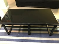 Glass Top Coffee Table & 02 Side Tables