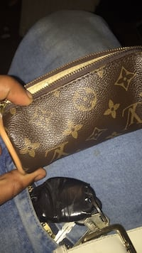 brown Louis Vuitton monogram leather wallet Capitol Heights, 20743
