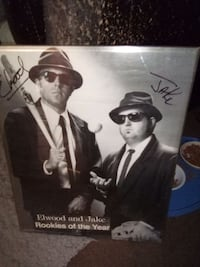 Autographed Jake and Elwood rookies of the year
