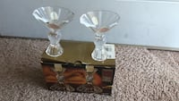 Brand new real crystal Ballerina Candlesticks set of two Norfolk, 23523