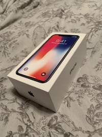 Apple iPhone x 256GB Black 6548 km
