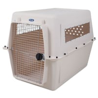 White Pet Crate/Traveler/Kennel