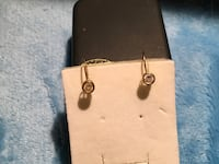 April birthstone 10 kt gold topaz earrings Glen Burnie, 21061