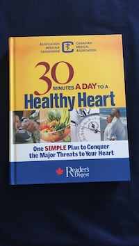 Reader's Digest 30 minutes a day to a healthy heart book