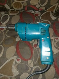 blue and black corded power drill New York, 10009