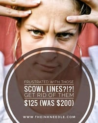 SCOWL LINE REMOVAL - save $75