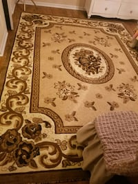 Brown and Beige rug size:8×10