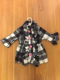 Black and white Mack and Co Coat- 12 mos Fairfax, 22032