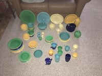 1940's Fiesta Ware. Over 110 pieces  Lakeville, 02347