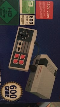 NES entertainment system replica 600 games plus 2 square controllers comes with box asking 80 Guelph, N1H 5W2
