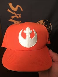 Star Wars , the rebellion crest on cap, very rare one of a kind, great to have in your collection Honolulu, 96814