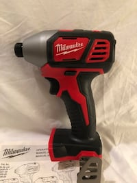 Brand new never used Milwaukee M18 impact driver. Tool only  Vacaville, 95687