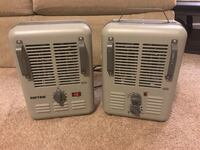 2 Patton Ceramic Space Heaters (Electric) Bethlehem, 30620