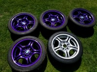 Purple bmw rims London, N6E 1Y5