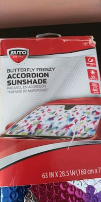 butterfly Car sunshade new $5 Cranston, 02910