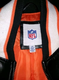 Bengals Leather jacket really nice! Amelia, 45102