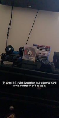 PS4 with all my games Waterford, 95386