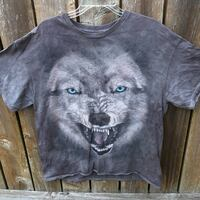 3D Tees by The Mountain short sleeve gray t-shirt mens XL 46/48 Independence, 97351