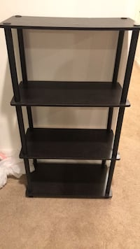 Wood shelf rack four tiers Mc Lean, 22102