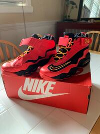 Nike Air Griffey Max 1 (Black/Laser Crimson- Atomic Mango