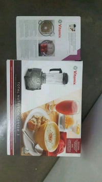 Vitamix(TNC3).W/DRY container.(new) Vancouver, V5N 3Y7