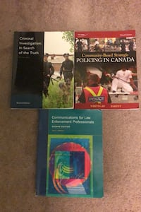 Police foundations / law enforcement textbooks Mississauga, L5M 7E3
