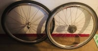 700c CYCLOCROSS Wheelset, Rides AWESOMELY! $100 FIRM Houston, 77082