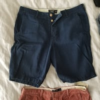 3 pairs of new/like new Men's Shorts from Abercrombie size 34 VANCOUVER
