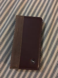 Leather iPhone case with built in wallet