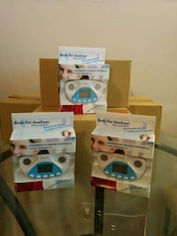 40 New body fat analyzers with lithium battery  Toronto, M6M 1T1