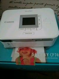 Canon Selphy CP740 Compact Photo Printer w/paper Middle River, 21220