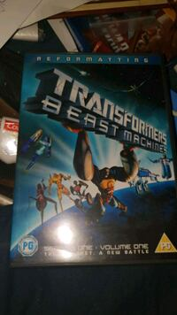 Transformers Beast Machines DVD  Stovner, 0986