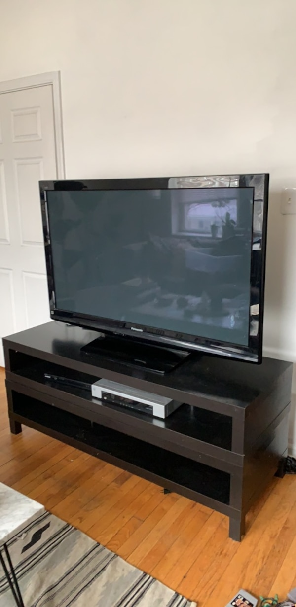 the latest 8f8ba 6d8c7 stacked ikea lack tv stand