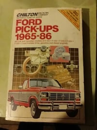 Chiltons Book Ford Pick-UPS  Rogers, 72758