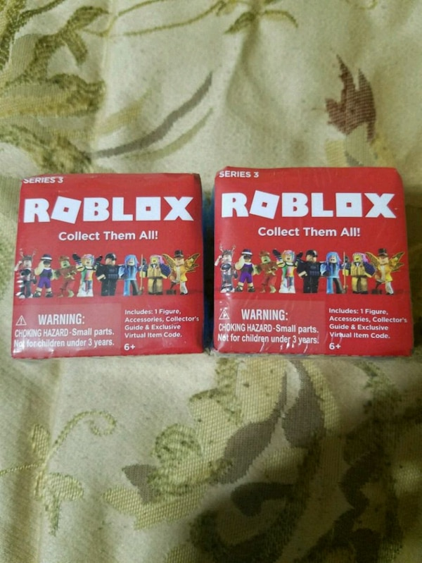 Roblox Mystery Box Series 3 - 12 Roblox Mystery Characters