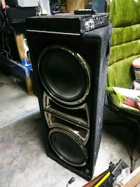 "10"" with amp  Bakersfield, 93311"