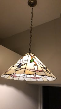 Tiffany style lamp, 20 inches wide, 3.5 feet from ceiling to bottom Alexandria, 22302