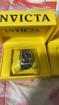 INVICTA men's watch with alligator band Manville, 02838