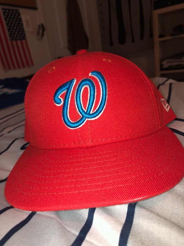Size 7 1/4 players weekend Washington Nationals hat
