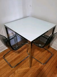 Glass Table and 2 Chairs Montréal, H3K 2S2