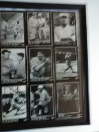 "9""X12"" framed picture  *The Babe Ruth Collection SHELTON"