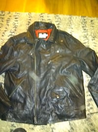 Topman leather riding jacket