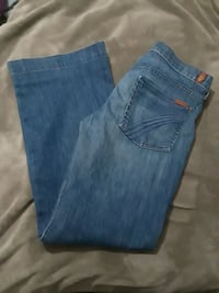 7 For All Mankind Tailorless Dojo Jeans Size 31 Ponchatoula, 70454